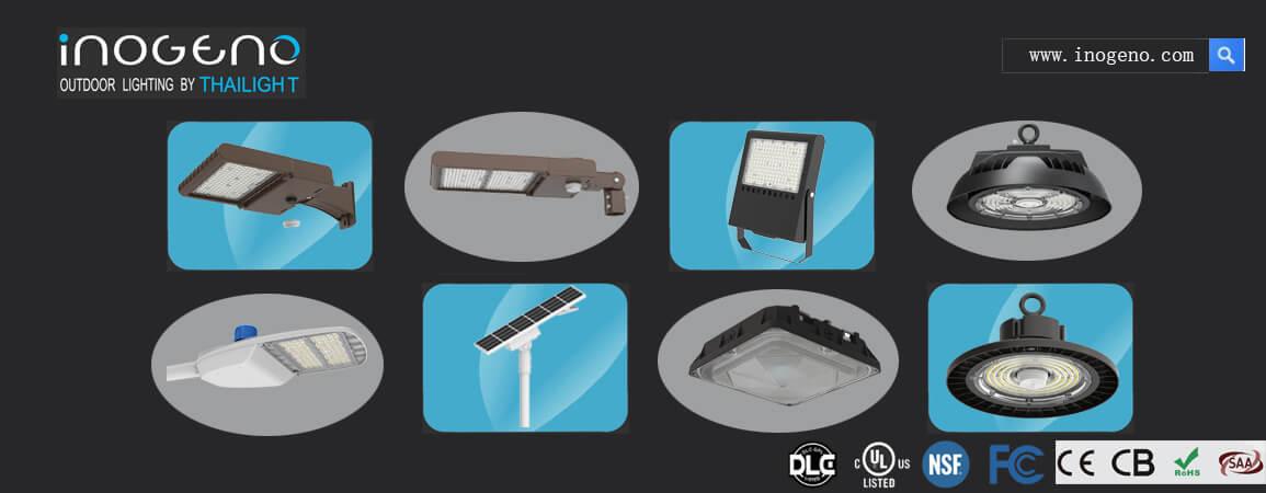 Inogeno main lighting products